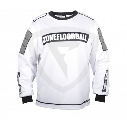Zone Monster Goalie Sweater White-Black JR.