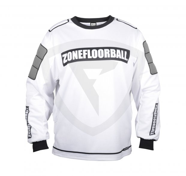 Zone Monster Goalie Sweater White-Black JR. 42250 Goalie Sweater MONSTER