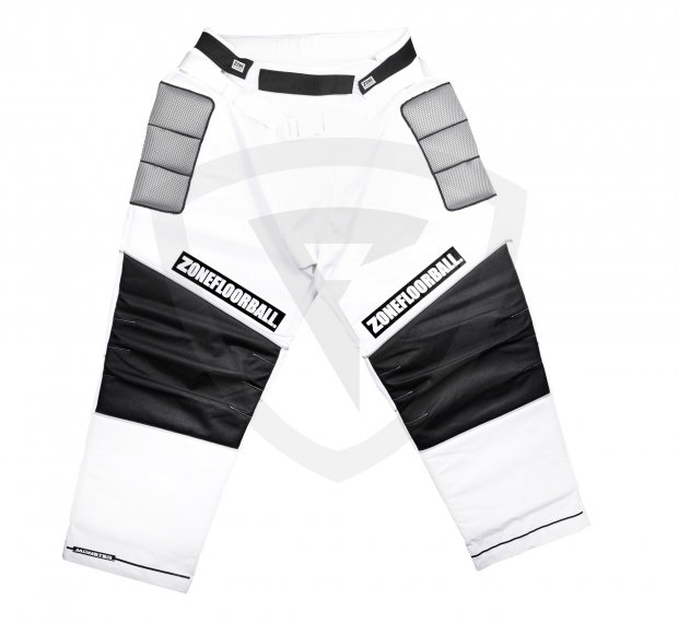 Zone Monster Goalie Pants White-Black JR 42260 Goalie PANTS MONSTER