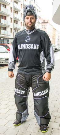 Blindsave Confidence Black Goalie Jersey