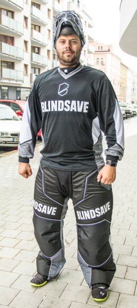 Blindsave Confidence Black Goalie Jersey Blindsave_Confidence_Black_Goalie_Jersey
