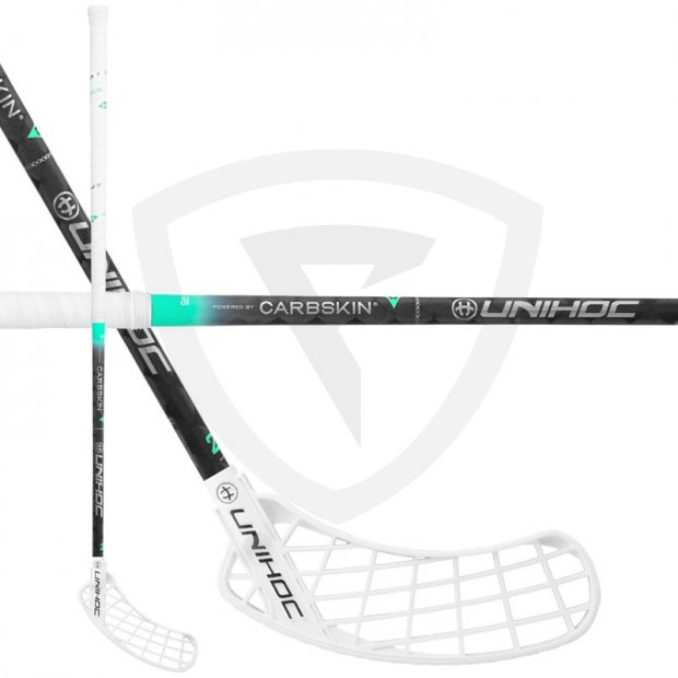 Unihoc Sonic Carbskin Feather Light 29 White SONIC_CARBSKIN_F29_1
