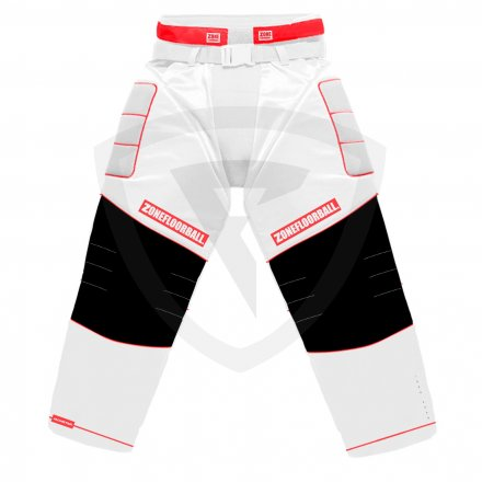 Zone Monster 2 Goalie Pants White-Red