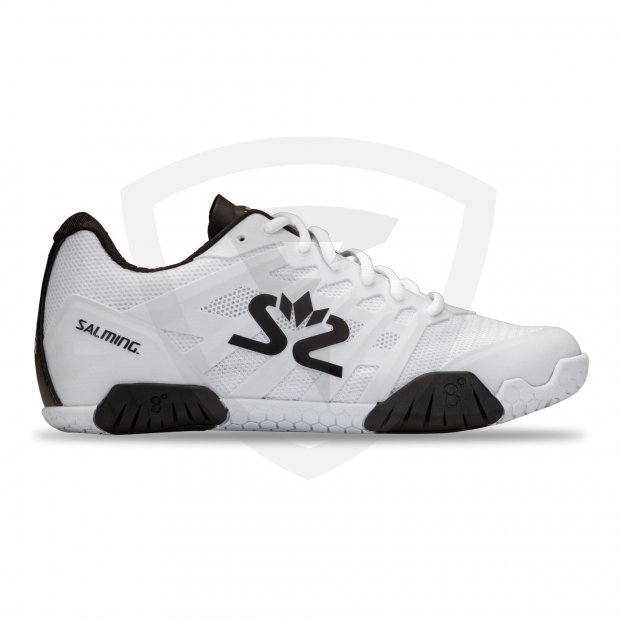 Salming Hawk Women White - Black 1230086-0701_1_Hawk-2-Shoe-Women_White-Black